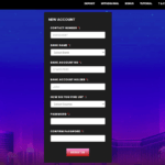 Mega888 register form